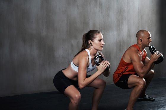 Helping each other keep composed through strenuous training
